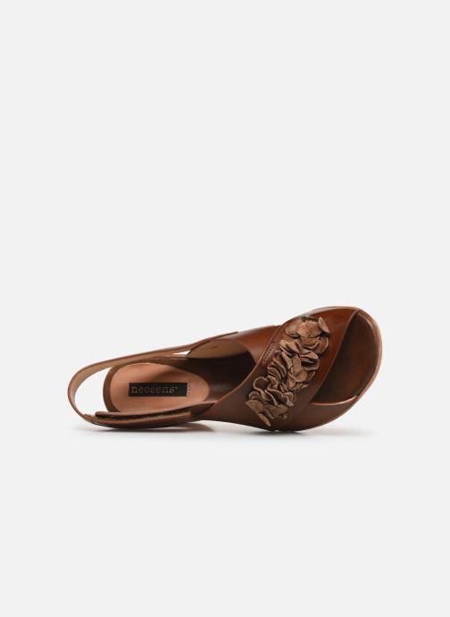 Sandales et nu-pieds Neosens Mulata S624 Marron vue gauche