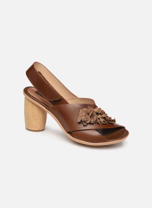 Sandales et nu-pieds Neosens Mulata S624 Marron vue détail/paire
