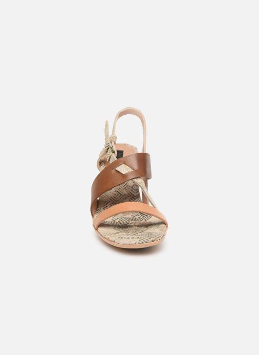 Sandales et nu-pieds Neosens Mulata S625 Marron vue portées chaussures