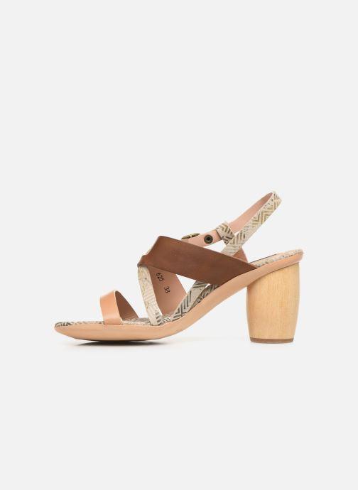 Sandales et nu-pieds Neosens Mulata S625 Marron vue face