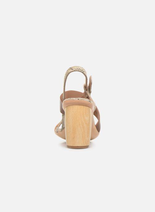 Sandales et nu-pieds Neosens Mulata S625 Marron vue droite