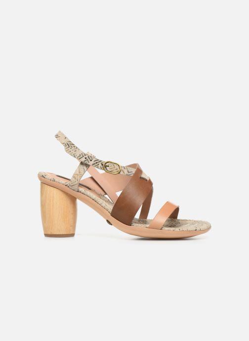 Sandales et nu-pieds Neosens Mulata S625 Marron vue derrière