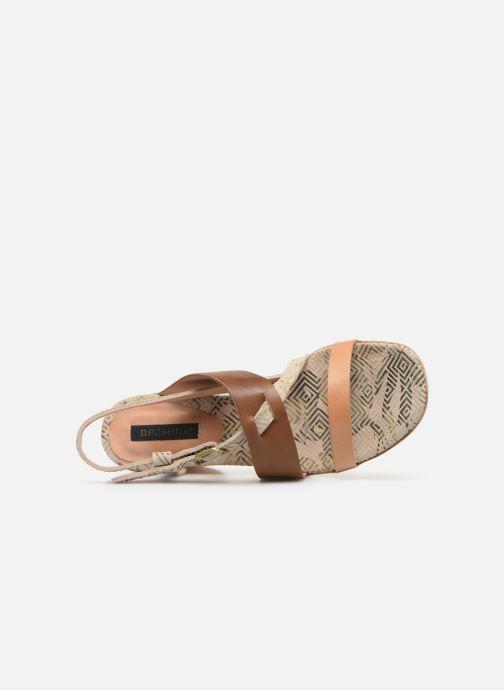 Sandales et nu-pieds Neosens Mulata S625 Marron vue gauche