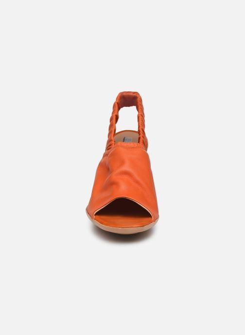 Sandales et nu-pieds Neosens Mulata S626 Orange vue portées chaussures