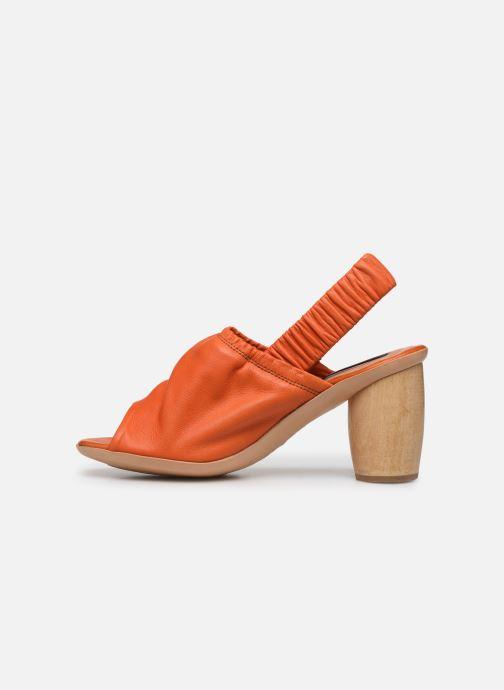 Sandales et nu-pieds Neosens Mulata S626 Orange vue face