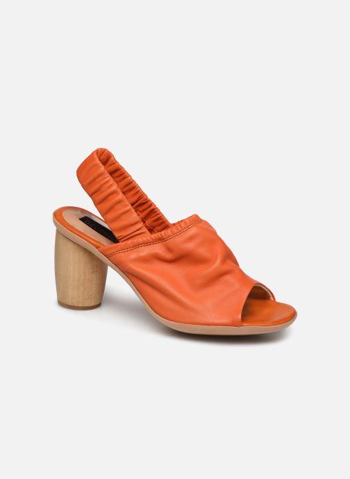 Sandales et nu-pieds Neosens Mulata S626 Orange vue détail/paire