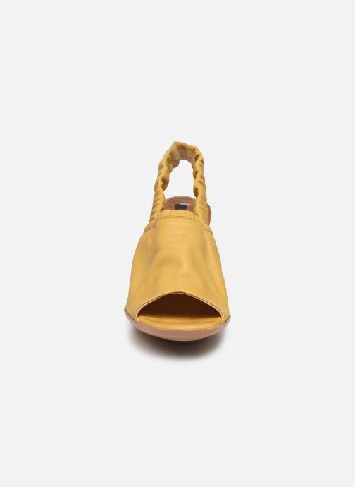 Sandales et nu-pieds Neosens Mulata S626 Jaune vue portées chaussures