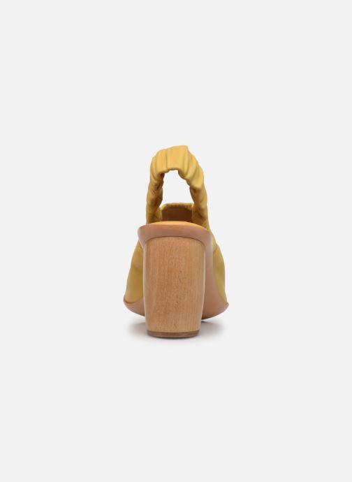 Sandales et nu-pieds Neosens Mulata S626 Jaune vue droite