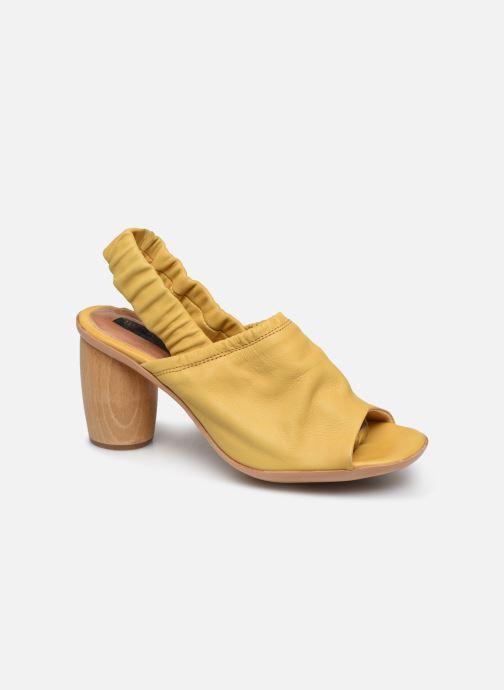 Sandales et nu-pieds Neosens Mulata S626 Jaune vue détail/paire