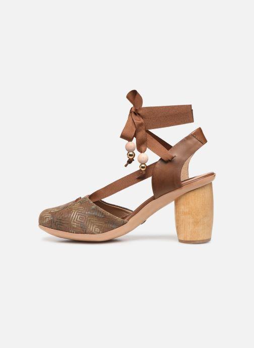 Sandales et nu-pieds Neosens Mulata S627 Marron vue face
