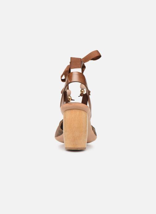 Sandales et nu-pieds Neosens Mulata S627 Marron vue droite