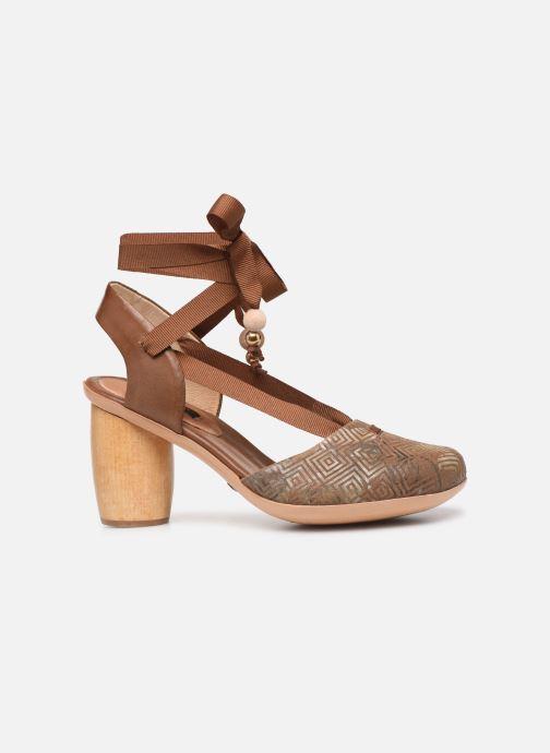 Sandales et nu-pieds Neosens Mulata S627 Marron vue derrière