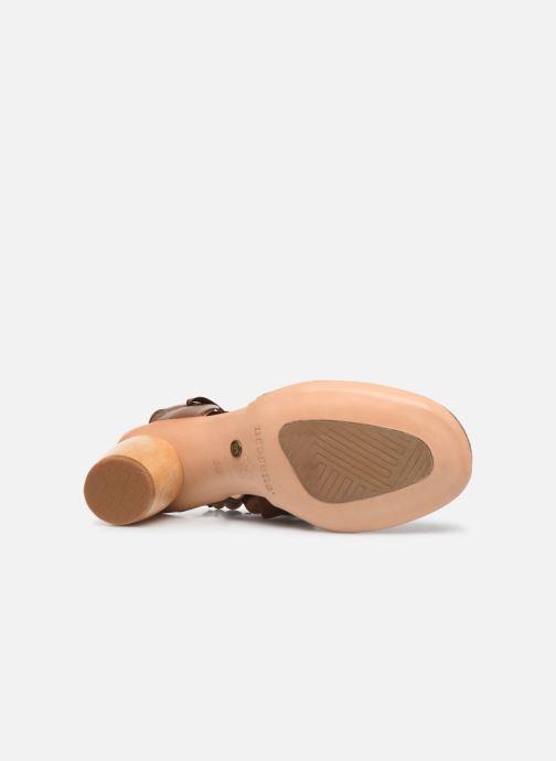 Sandales et nu-pieds Neosens Mulata S627 Marron vue haut