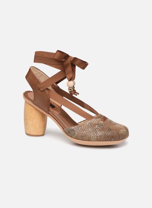 Sandales et nu-pieds Neosens Mulata S627 Marron vue détail/paire