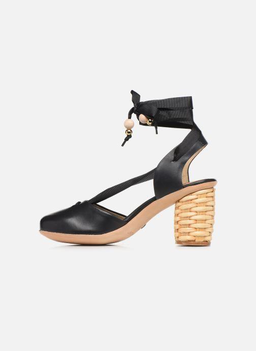 Sandales et nu-pieds Neosens Mulata S627S Noir vue face
