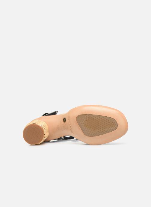 Sandales et nu-pieds Neosens Mulata S627S Noir vue haut