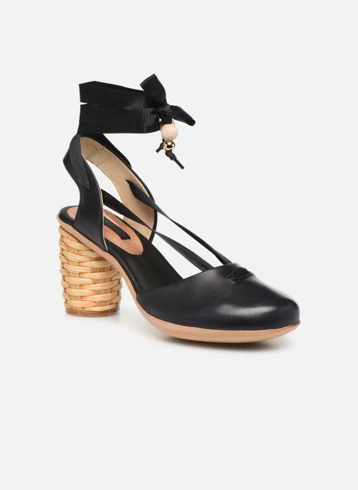 Sandales et nu-pieds Neosens Mulata S627S Noir vue détail/paire