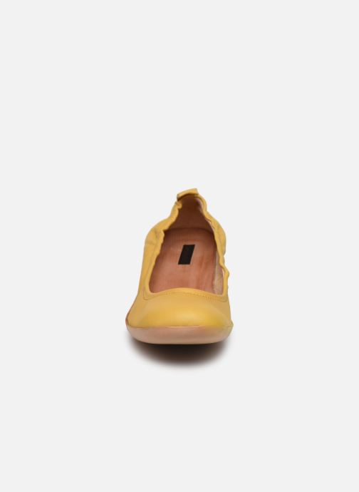 Zapatos de tacón Neosens Tintorera S695 Amarillo vista del modelo