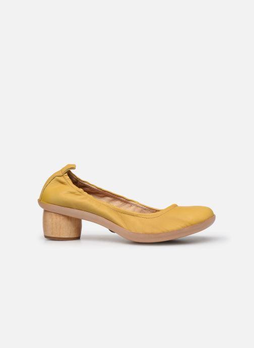 Zapatos de tacón Neosens Tintorera S695 Amarillo vistra trasera