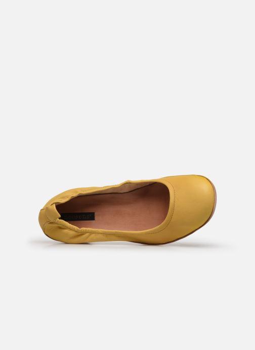 Zapatos de tacón Neosens Tintorera S695 Amarillo vista lateral izquierda