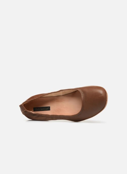 Zapatos de tacón Neosens Tintorera S695 Marrón vista lateral izquierda