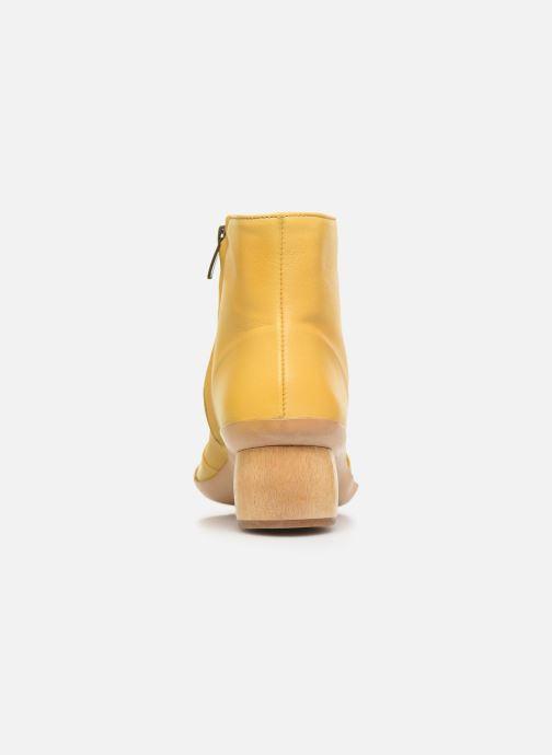 Boots en enkellaarsjes Neosens Tintorera S698 Geel rechts