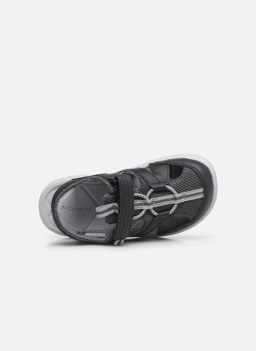 Sandali e scarpe aperte Columbia Youth Techsun Wave Grigio immagine sinistra