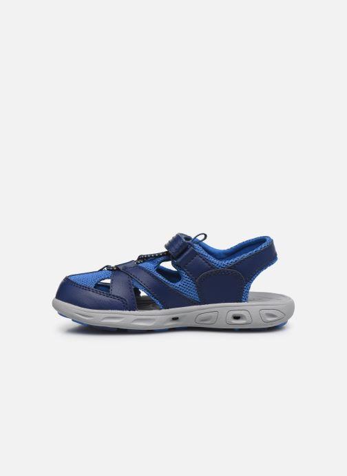 Sandalen Columbia Youth Techsun Wave blau ansicht von vorne