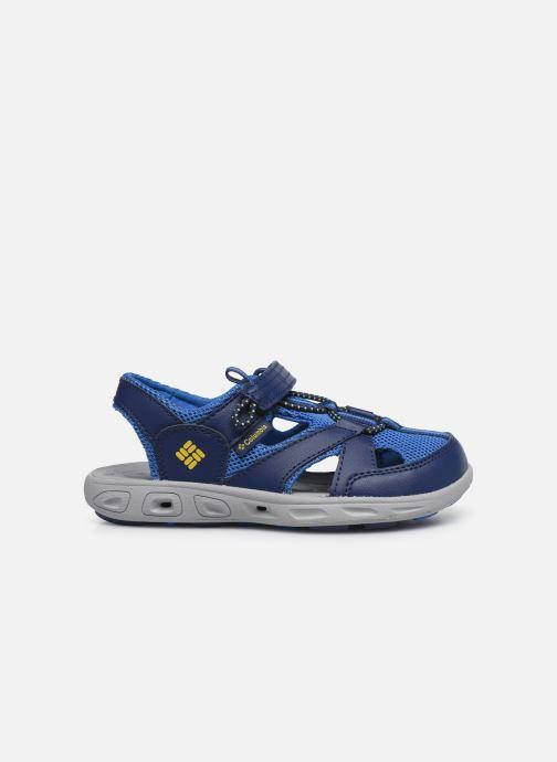Sandalen Columbia Youth Techsun Wave blau ansicht von hinten