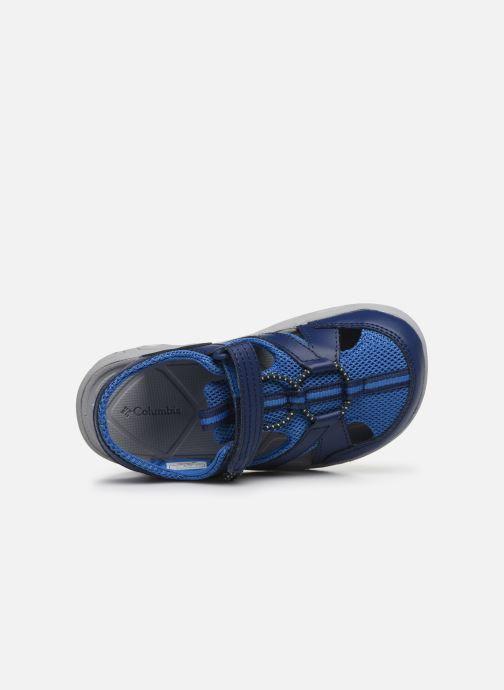 Sandalen Columbia Youth Techsun Wave blau ansicht von links