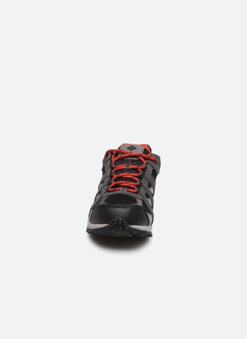 Sportschuhe Columbia Youth Redmond Waterproof schwarz schuhe getragen