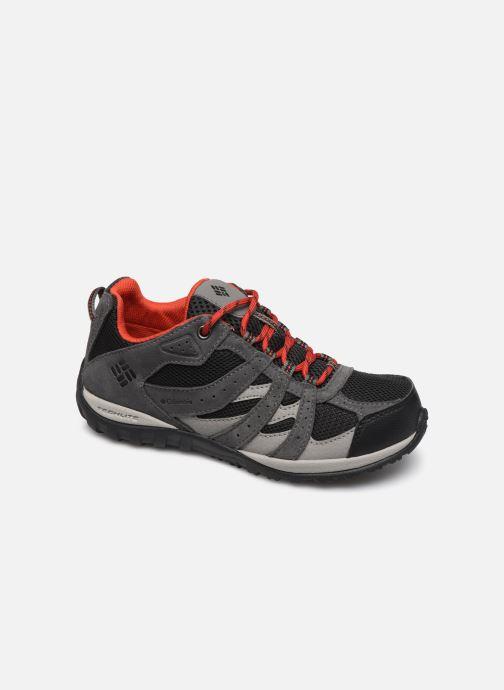 Chaussures de sport Columbia Youth Redmond Waterproof Noir vue détail/paire