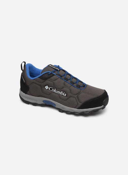 Chaussures de sport Columbia Youth Firecamp Sledder 3 WP Gris vue détail/paire