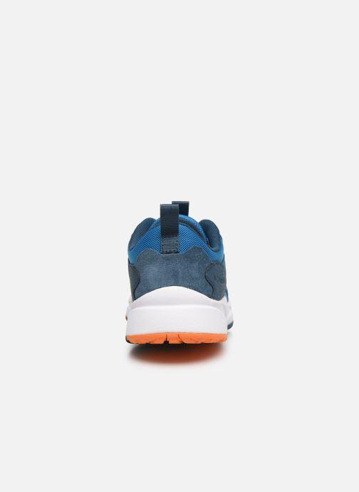Sneaker Columbia Youth Pivot blau ansicht von rechts