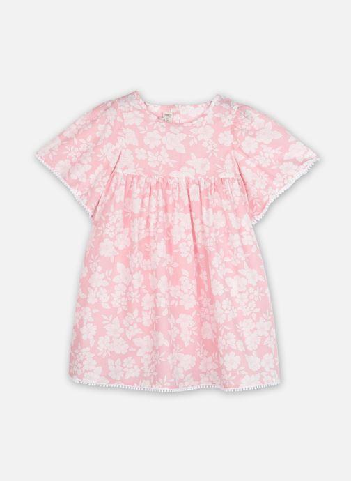 Vêtements Bobine Robe Sara Chartres Rose vue détail/paire