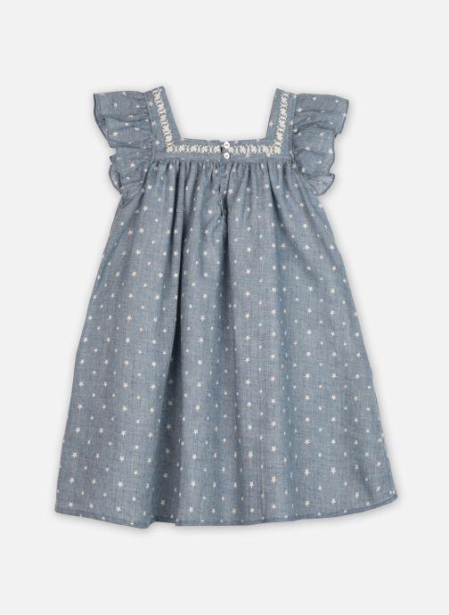 Vêtements Bobine Robe Lilas Tulle Bleu vue portées chaussures