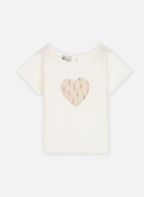 Abbigliamento Bobine Tee shirt cœur Nimes Bianco vedi dettaglio/paio