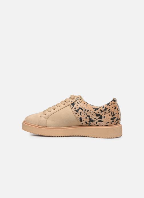 Sneakers Vanessa Wu BK1654 Beige voorkant