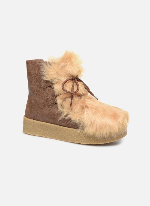 Bottines et boots Vanessa Wu BK1658 Beige vue détail/paire
