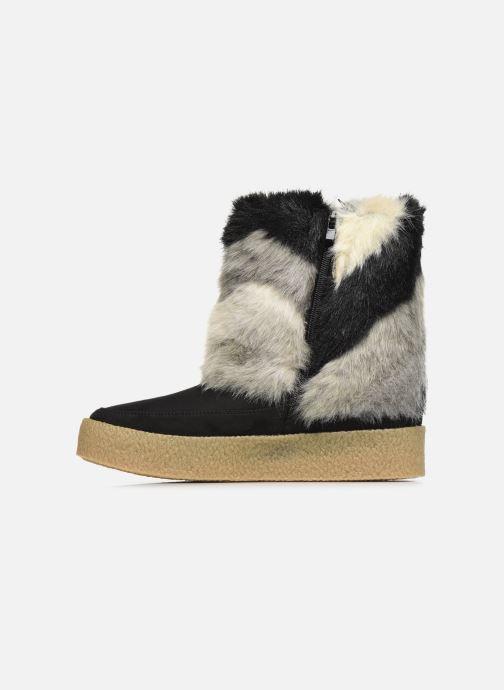 Bottines et boots Vanessa Wu BK1659 Noir vue face