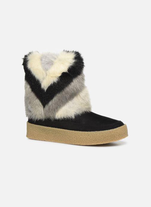Bottines et boots Vanessa Wu BK1659 Noir vue détail/paire