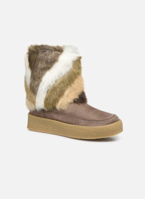 Bottines et boots Vanessa Wu BK1659 Marron vue détail/paire