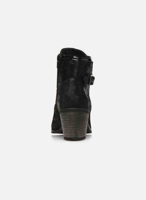 Bottines et boots Vanessa Wu BT1801 Noir vue droite