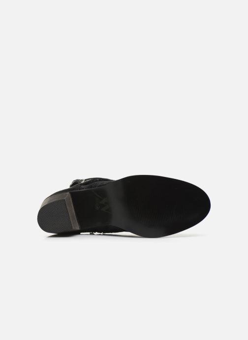 Bottines et boots Vanessa Wu BT1801 Noir vue haut