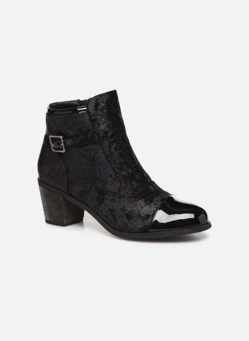 Bottines et boots Vanessa Wu BT1801 Noir vue détail/paire