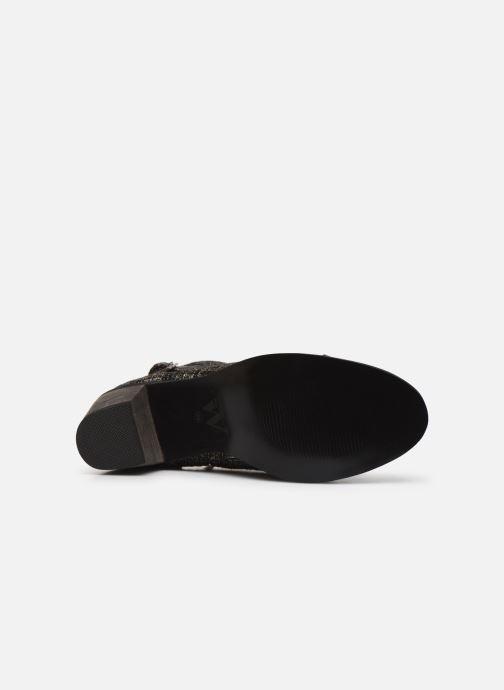 Bottines et boots Vanessa Wu BT1801 Or et bronze vue haut