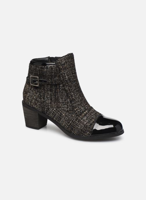Bottines et boots Vanessa Wu BT1801 Or et bronze vue détail/paire