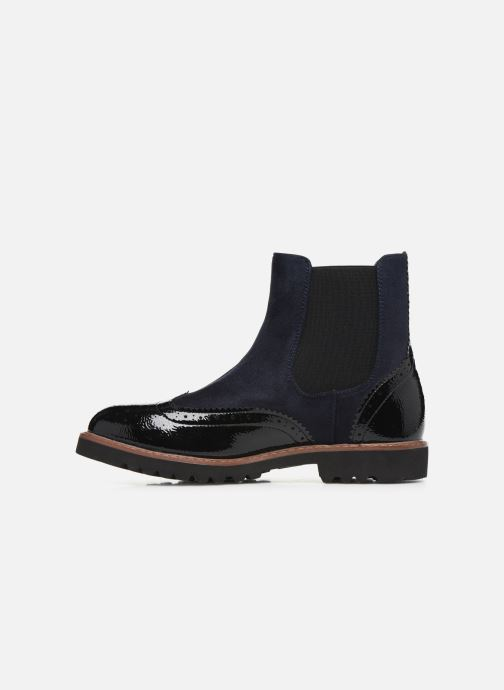 Ankle boots Vanessa Wu BT1829 Black front view