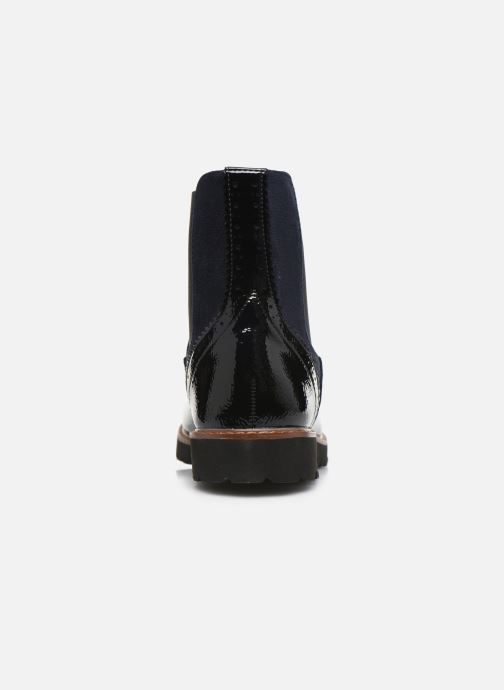 Ankle boots Vanessa Wu BT1829 Black view from the right