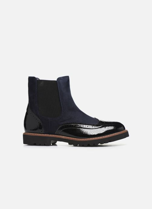 Ankle boots Vanessa Wu BT1829 Black back view